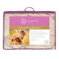 Одеяло классическое Золотое руно 200х220 см Ecotex, фото 2