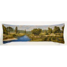 Подушка гобеленовая Родные места 35x106 см, фото 1