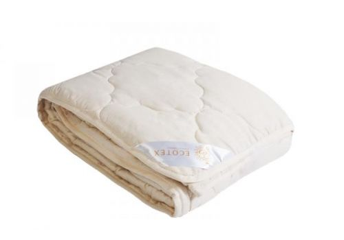 Одеяло облегченное Золотое руно 140х205 см Ecotex, фото 1