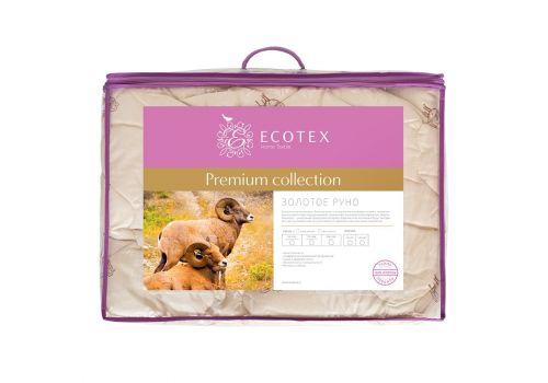 Одеяло облегченное Золотое руно 172х205 см Ecotex, фото 2