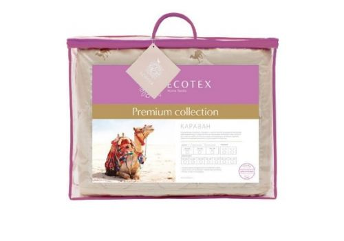 Одеяло облегченное Караван 200х220 см Ecotex, фото 2