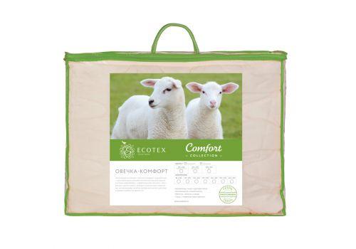 Одеяло классическое Овечка-комфорт 140х205 см Ecotex, фото 2